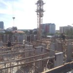 Block 2B 2nd Storey Slab Works in Progress
