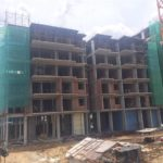 Block 2D 7th Storey Slab Works In progress