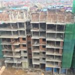 Block 2D 9th Storey Slab Works In progress