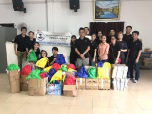 Donated Items to Cambodia Care Centre
