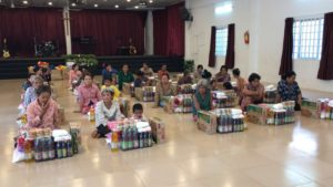 Donation of Daily Neccessities to the Widows through Cambodia Care Centre