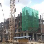 Safety Works in progress at Block 2B Safety and Quality Management works moves in tandem with the structural works progresses at Axis Residences