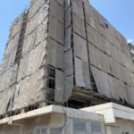 Block 2A 10th Storey plastering works in progress