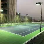 MSCP Installation Tennis Courts Works Done